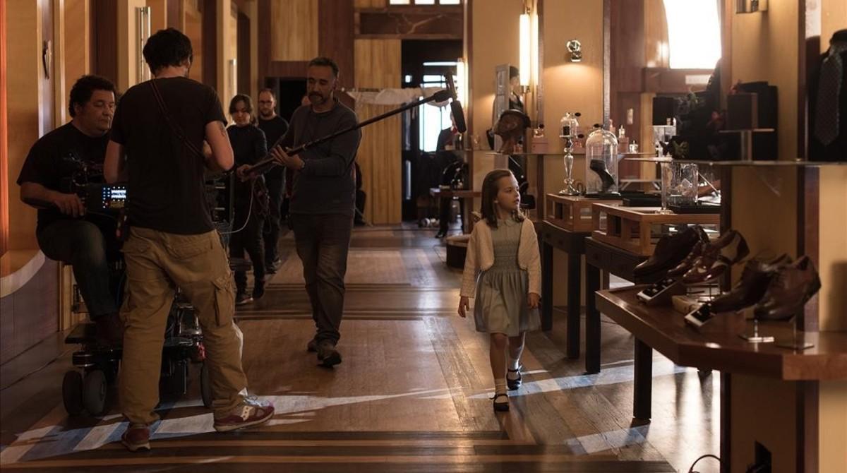 Imagen del rodaje de la cuarta temporada de 'Velvet'.