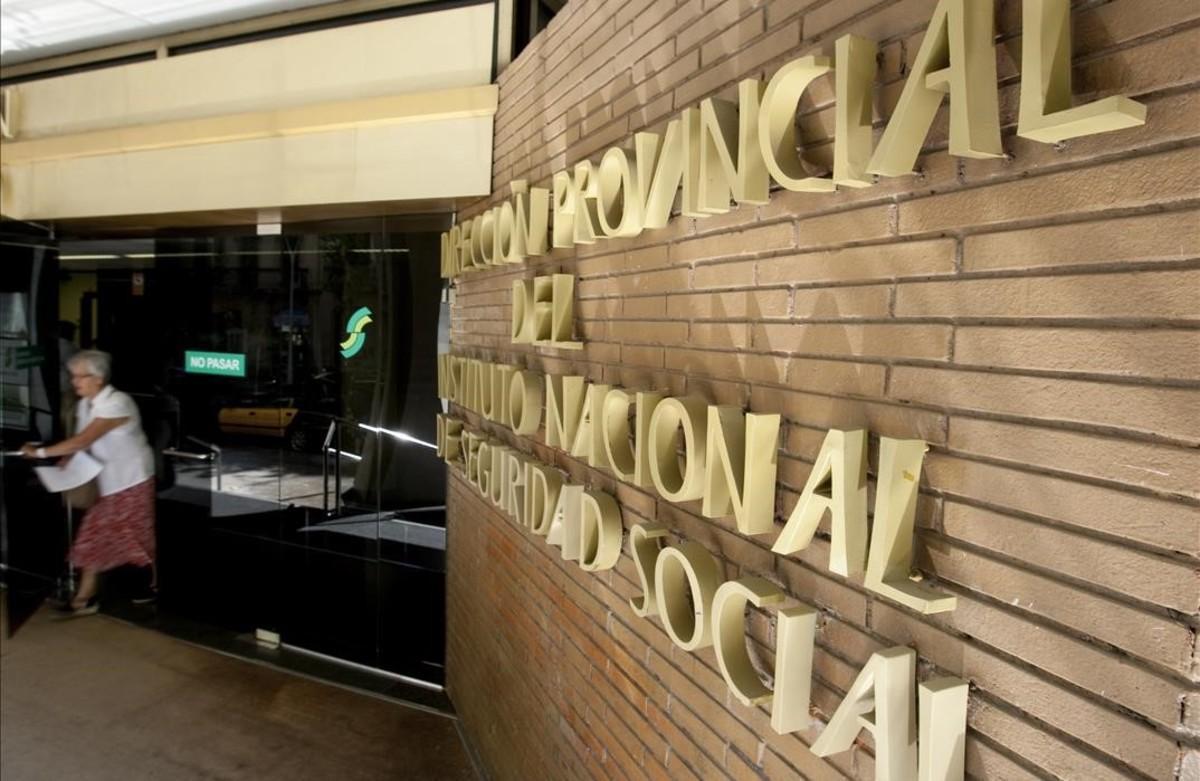Delegación del INSS en Barcelona.