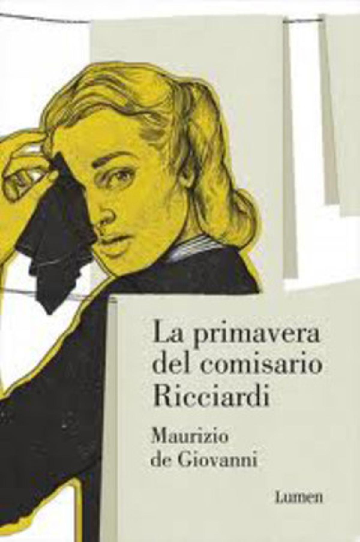 Portada de 'La primavera del comisario Ricciardi', de Maurizio de Giovanni.