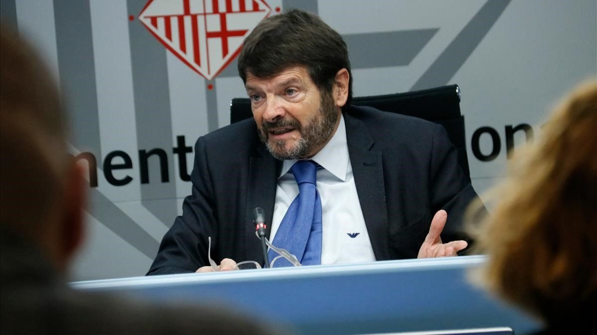 El teniente de alcalde de Seguridad, Albert Batlle.