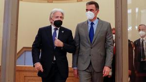 Josep Sánchez Llibre y Pedro Sánchez.