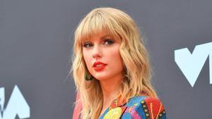 Taylor Swift, a su llegada al Prudential Center in Nawark, en Nueva Jersey, este 26 de abril.