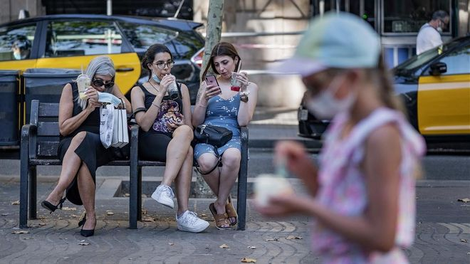 Onada de calor a Espanya
