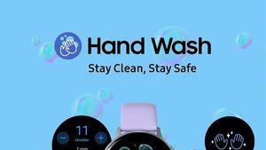 Imagen de la aplicación Samsung Handwash.