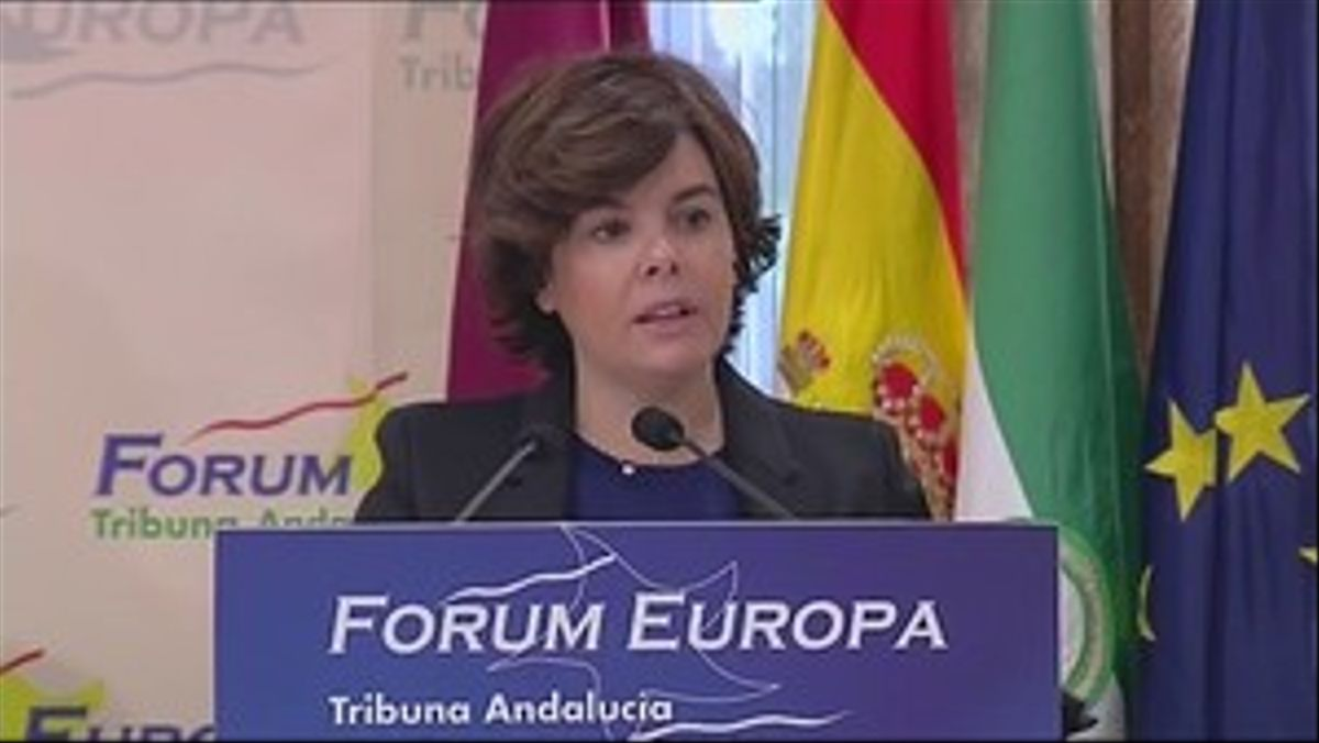Soraya Sáenz de Santamaría ha emplazado al PSOE a negociar un nuevo sistema de financiación autonómica.
