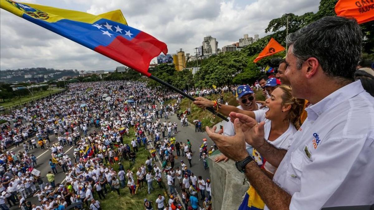 La oposición venezolana gana el premio Sàjarov del Parlamento Europe, tras estar nominada en 2015.