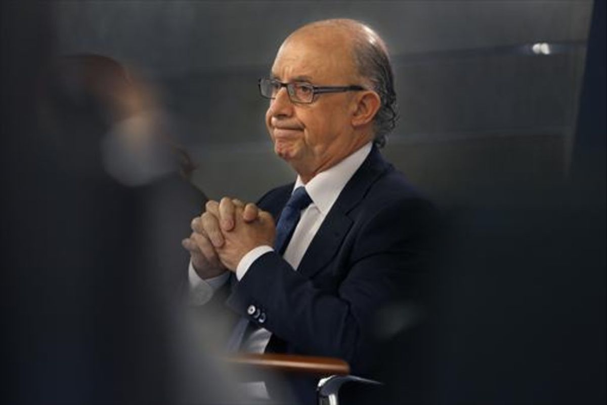 Cristóbal Montoro, ministro de Hacienda en funciones.