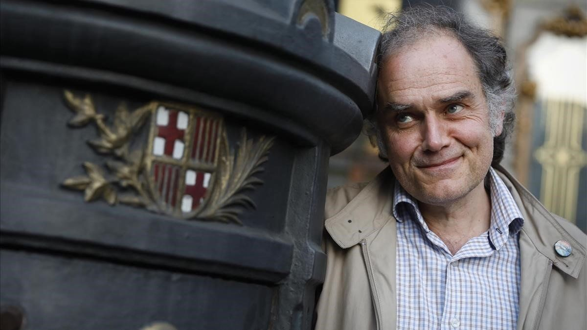 Javier Pérez Andújar, en Barcelona, el lunes pasado.