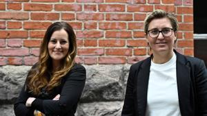 Dues dones per unir L'Esquerra alemanya