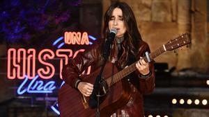La cantante Zahara, en un momento del programa 'Una historia, una canción'.