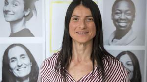 Natalia Vicente, estibadora, una de las protagonistas del documental 'En la brecha'.