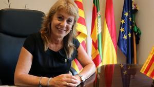 Rosa Fonoll, alcaldesa de Cubelles.