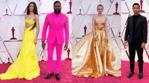 Zendaya, Colman Domingo, Carey Mulligan y Riz Ahmed, los mejores 'looks' de la gala de los Oscar 2021.