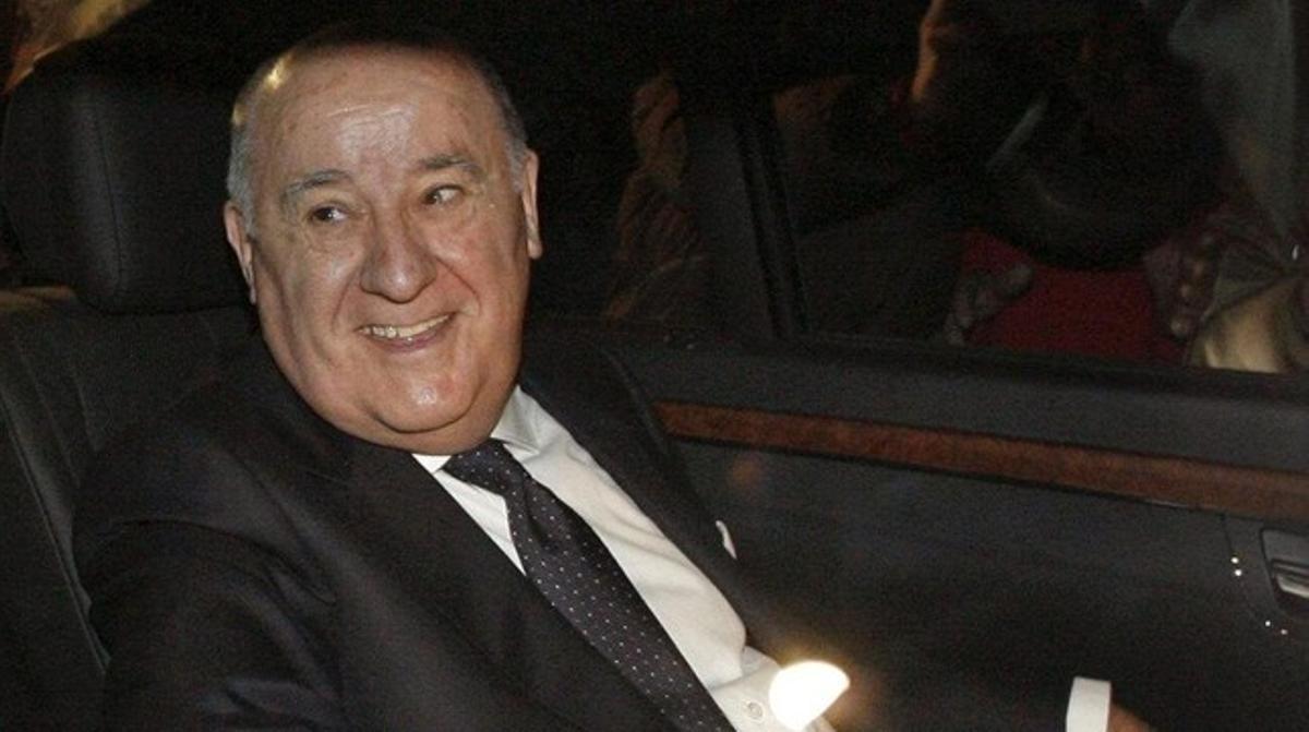 Amancio Ortega, dueño de Inditex.
