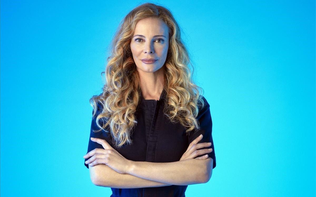 La presentadora gallega Paula Vázquez.