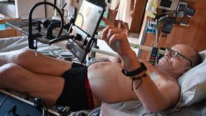 Alain Cocq, ciudadano francés con una enfermedad incurable, que pide morir con dignidad.