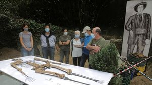 Trobades les restes del gegant d'Altzo, que va recrear la pel·lícula 'Handia'