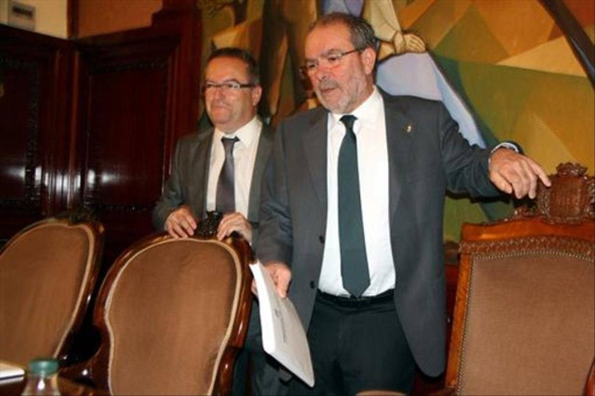 Joan Reñé, presidente de la Diputación de Lleida.