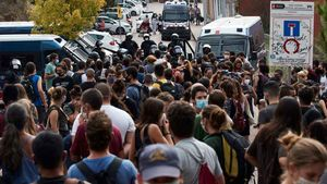 Desahucio de un piso de Oleguer Pujol en Barcelona