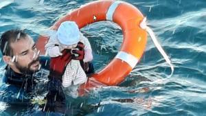 El guàrdia civil del rescat a Ceuta: «Estava gelat»