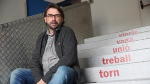 BARCELONA 18 12 2020 Economia Entrevista con el Secretario General de la UGT de Catalunya  Camil Ros    FOTO de RICARD CUGAT
