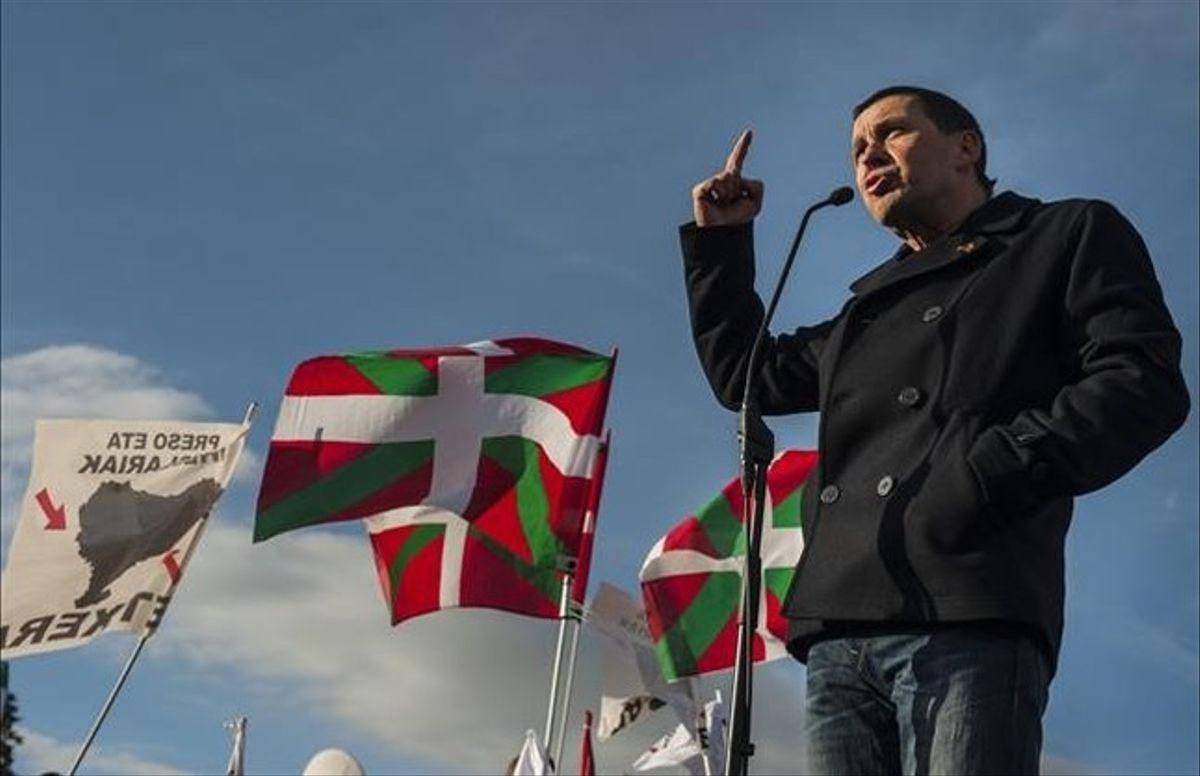 Arnaldo Otegi ha sido designado candidato a lendakari por las bases de EH Bildu