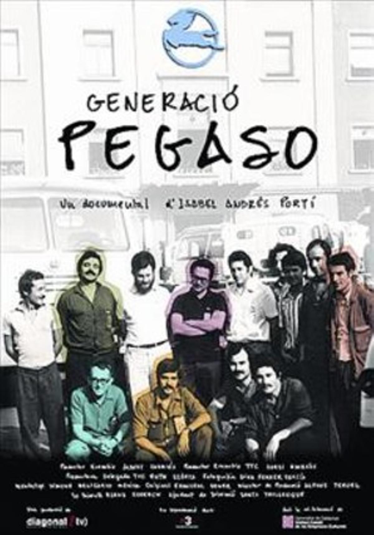 Cartel de 'Generació Pegaso'.