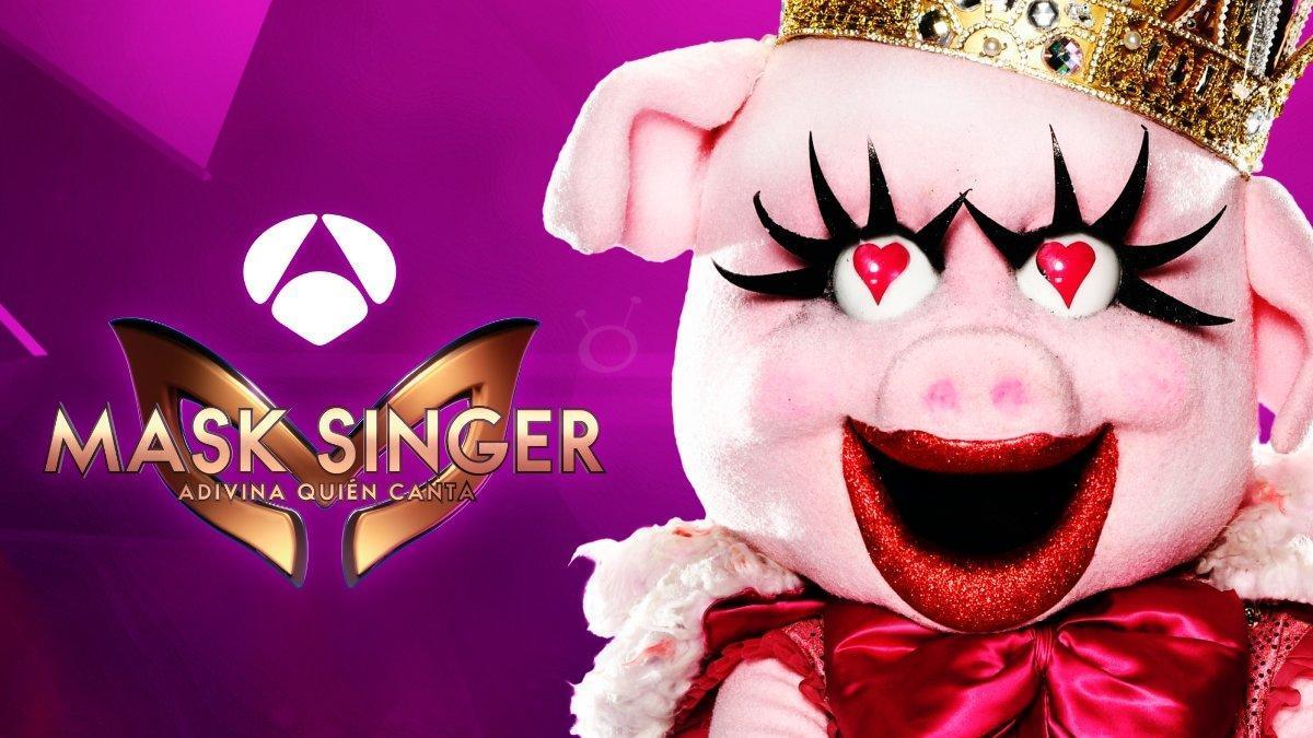 Cerdita, una de las máscaras de 'Mask Singer: adivina quién canta'.