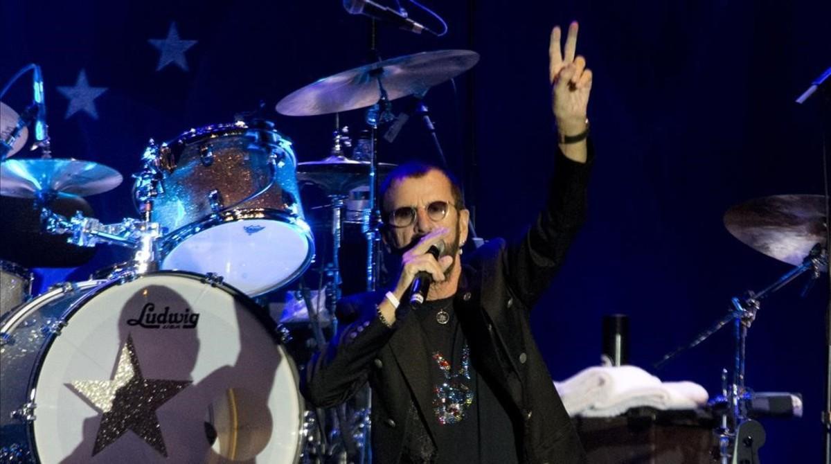 Ringo Starr vol ser el teu home