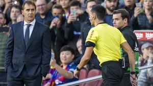El Reial Madrid humilia Lopetegui en el seu acomiadament