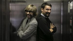 Oscar Andreu y Oscar Dalmau aparecen tambiénen el late show de TV3llamado'La nit dels Óscars'