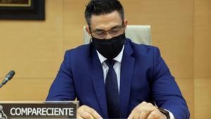L'ex-xòfer de Bárcenas es manté ferm i respon amb un lacònic 'no' a les acusacions en contra seu