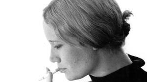 La modelo y prostituta Julia Callan-Thompson, rebautizada en la novela 'Tainted love' como Jilly O'Sullivan, en una imagen de los años 60 facilitada por Stewart Home.