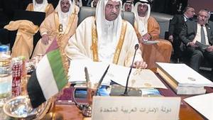 El emir de Fujairah (Emiratos Árabes Unidos).