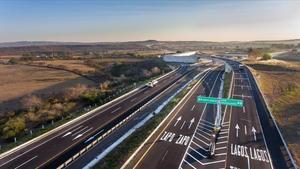 Imagen de un tramo de una autopista de peaje gestionada por RCO(controlada por Abertis), en México.