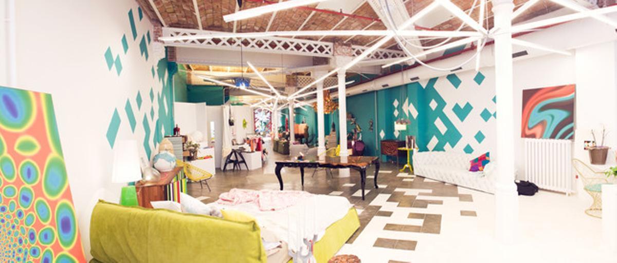 Imagen de la colorista y original tienda de Mar Gómez, Mar de Cava, en calle de València, 293.