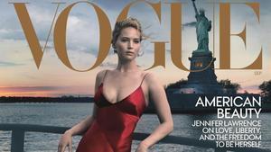 Una de las portadas de 'Vogue', con Jennifer Lawrence.