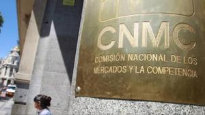 Sede de la Comision Nacional de los Mercados y la Competencia (CNMC) en Madrid.