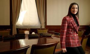 Inés Arrimadas en el Congreso de los Diputados.