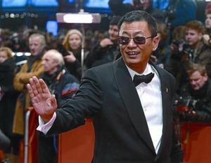 El director de cine Wong Kar Wai, en la alfombra roja del Festival de cine de Berlín, en una foto de archivo.