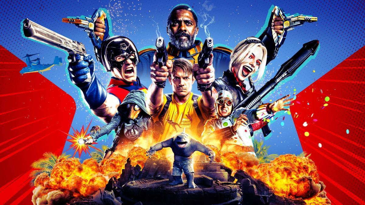 Una imagen promocional de 'El Escuadrón Suicida'