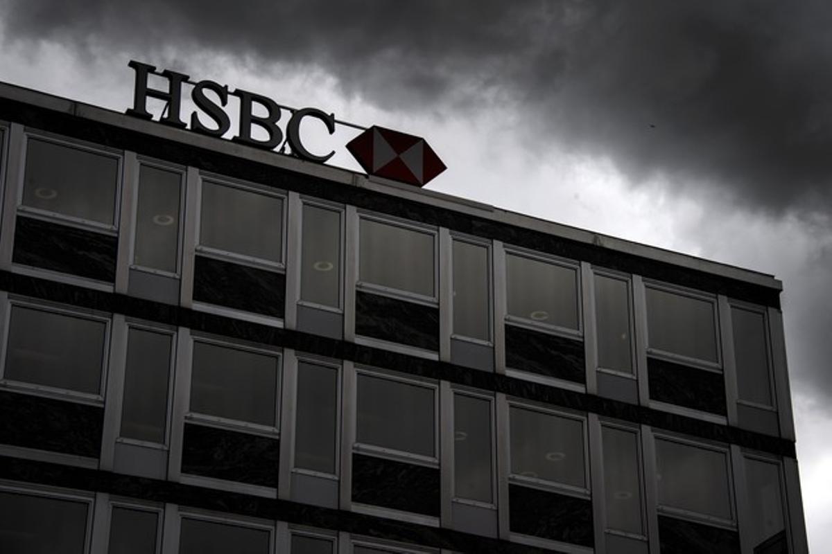 Oficinas del HSBC en Ginebra.