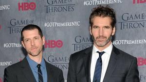 Los creadores de 'Juego de tronos', Dan Weiss y David Benioff (derecha).