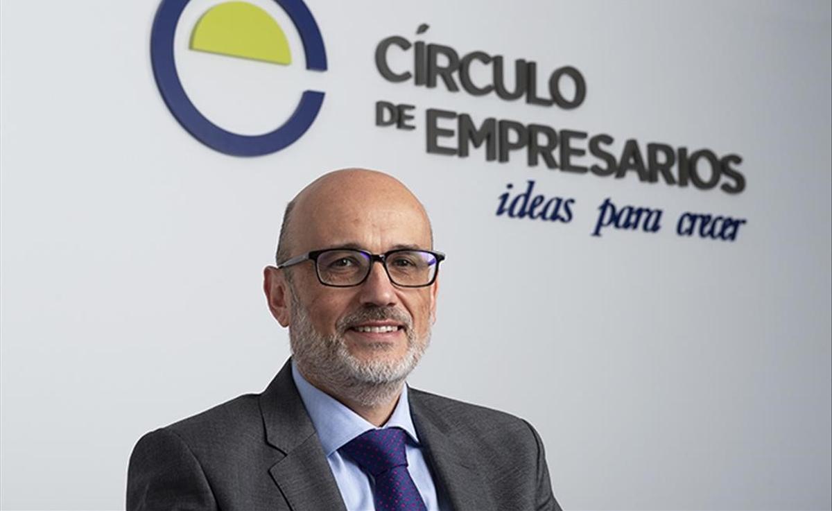 Manuel Pérez Sala, presidente del Círculo de Empresarios.