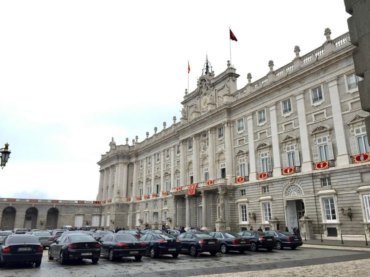 El Palacio Real de Madrid, sede principal de Patrimonio Nacional.