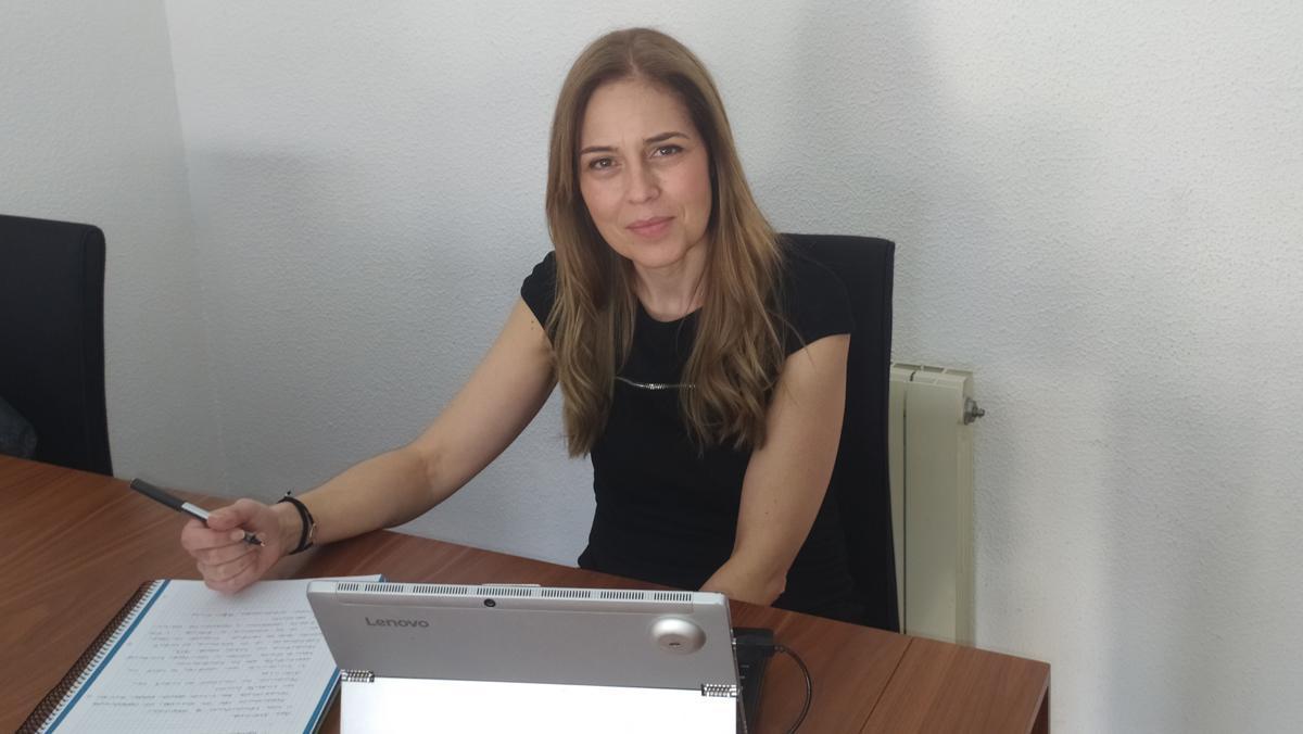 Sònia Serrano, gestora de sostenibilidad de BBVA en Catalunya.