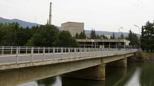La central nuclear de Santa María de Garoña, en vías de desmantelamiento.