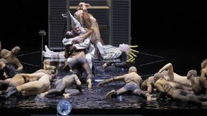 Un momento de 'Karl V', estrenada este domingo en Múnich.