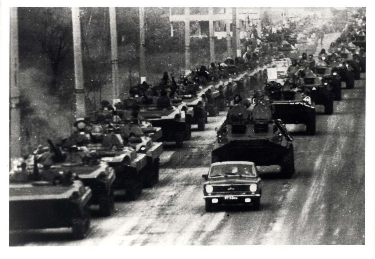 Golpe de Estado en la URSS, en directo