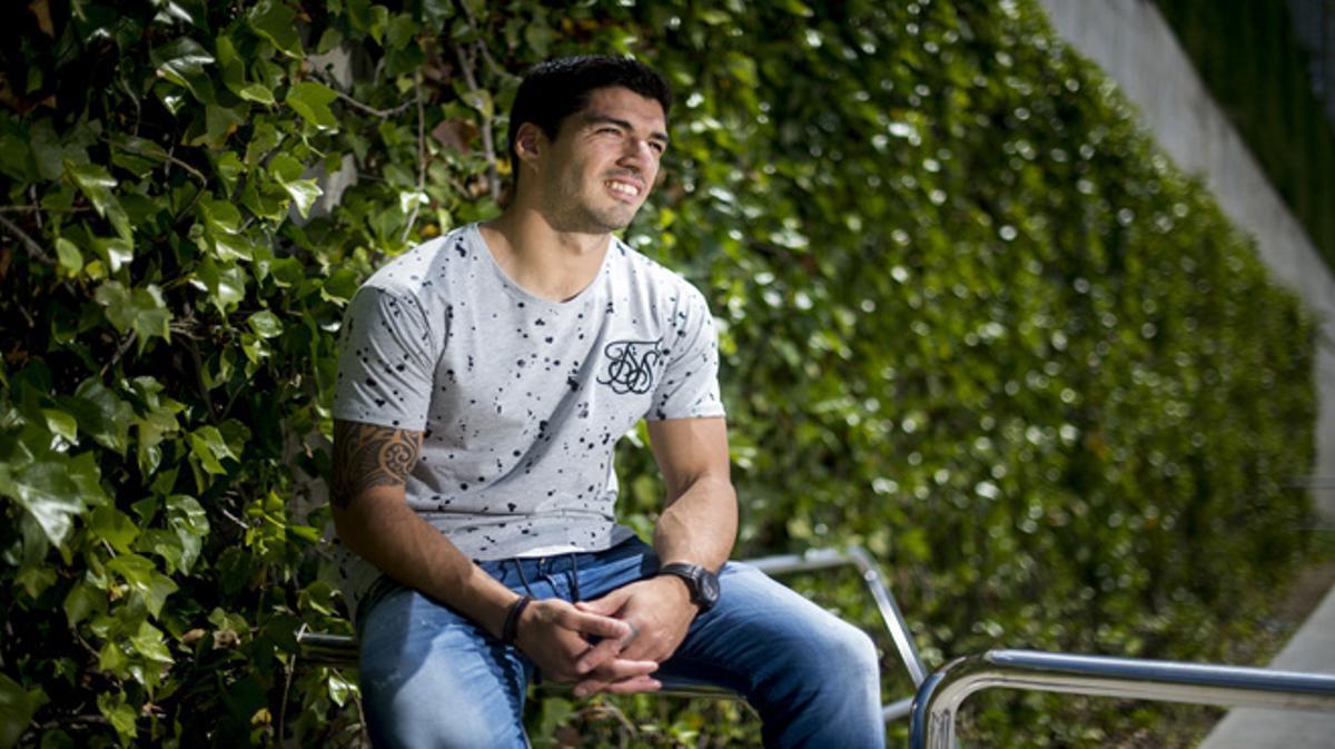 Luis Suárez: 'Si he llegado a algún sitio es porque soy muy terco'.